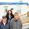 12-23-13   ---  Brian, Bridget and Zak College who's home was heavily damaged by the tornado will be spending Christmas in a small apartment. Bridget was in the basement of this house at 1912 S. Lafountain.<br />   KT photo | Tim Bath