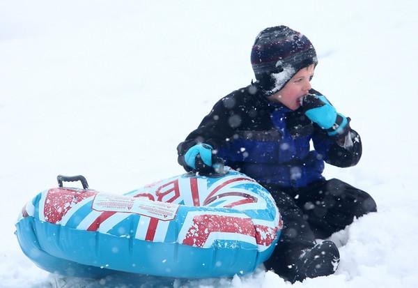 12-14-13<br /> Jackson Morrow Park snow<br /> <br /> KT photo   Kelly Lafferty