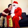 Santa at Western