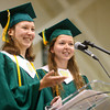 "6-8-14<br /> Eastern Graduation<br /> Eastern's valedictorian and salutatorian, twins Claire and Marie Holkenbrink, give a joint speech called, ""The Holkenbrink's Handheld Guide to Happiness.""<br /> Kelly Lafferty 