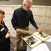 2-11-13<br /> Kokomo Howard County Public Library genealogy department. Marcia Ford and Clee Oliver leaf through a Kokomo Victory book with old photos and articles.<br /> KT photo | Tim Bath
