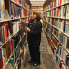 2-11-13<br /> Kokomo Howard County Public Library genealogy department. Marcia Ford pulls a book from the collection.<br /> KT photo | Tim Bath