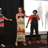 "2-27-14<br /> International Baccalaureate students present personal projects<br /> Jeremiah Young, Chanise Hero, and Jasmine Vincent demonstrate the moves for the ""Dougie"" during their International Dance presentation at Kokomo High School.<br /> KT photo 