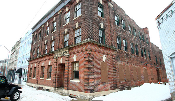 2-20-14<br /> Jeff Broughton properties on N. Buckeye<br /> <br /> KT photo   Kelly Lafferty