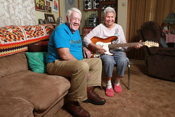 1-29-14<br /> Harry and Sally Haynes have been married for 57 years.<br /> KT photo | Kelly Lafferty