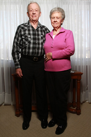 Joe and Carolyn Price have been married for 59 years.<br /> KT photo | Kelly Lafferty