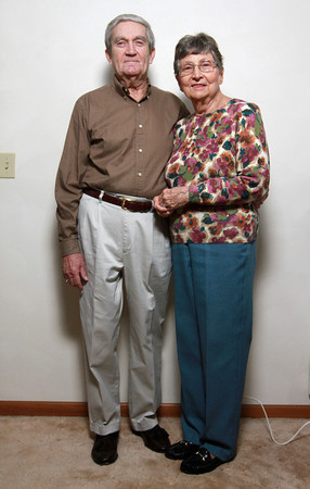 1-23-14<br /> Dan and Barbara Bourff have been married for 57 years.<br /> KT photo | Kelly Lafferty