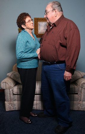 Billie and Doyle Thompson have been married for 62 years.<br /> KT photo | Kelly Lafferty
