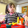 2-24-14<br /> Darrough Chapel Head Start<br /> Nevaeh Pratt works at one of the stations at Darrough Chapel Head Start.<br /> KT photo | Kelly Lafferty