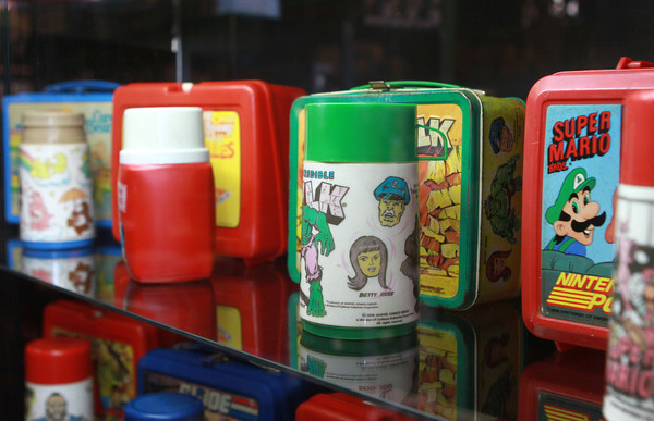 2-12-14<br /> Kokomo Toys & Collectibles new location<br /> Collectible lunchboxes and thermoses are just some of the merchandise at Kokomo Toys & Collectibles new location in downtown Kokomo.<br /> KT photo   Kelly Lafferty