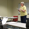 2-14-14<br /> Ivy Tech Adjunct<br /> Michele Harding teaches class at Ivy Tech on Friday.<br /> KT photo | Kelly Lafferty