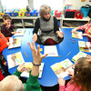2-20-14<br /> Robyn Dill at NWES<br /> Northwestern Elementary teacher Robyn Dill leads a reading group in her second grade classroom.<br /> KT photo | Kelly Lafferty
