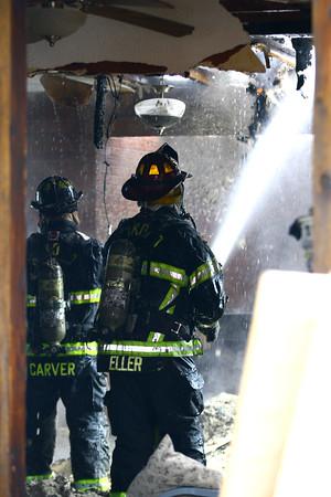 N. Webster St Fire