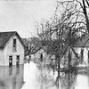 Images of the 1913 flood provided by the Howard County Historical Society.<br /> East Sycamore St in Kokomo, half of a mile from the river