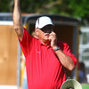 7-5-14<br /> Haynes Apperson Sports<br /> Stu Whitcomb fires the gun to begin the race of the Kids Track Meet.<br /> Kelly Lafferty | Kokomo Tribune