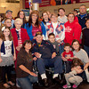 4-5-14<br /> WWII veteran Jack Snyder returns to a surprise celebration from the Honor Flight.<br /> <br /> Kelly Lafferty | Kokomo Tribune