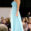 1-13-13<br /> Bridal Show at the Kokomo Event and Conference Center. Kyle Carpenter showing off an ocean blue dress.<br /> KT photo | Tim Bath