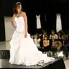 1-13-13<br /> Bridal Show at the Kokomo Event and Conference Center. Hannah Reed posing in a dress from Blyes Bridal, Prom & Tux Shoppe during the fashion show.<br /> KT photo | Tim Bath