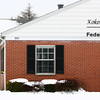 1-3-13<br /> Kokomo Police detectives investigate a late Thursday morning robbery at Kokomo Heritage Federal Credit Union at 901 South Courtland.<br /> KT photo | Tim Bath