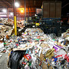 1-2-14<br /> Recycling<br /> The baler is operated to compact and push out bales of recycled materials at Kokomo Recycle Center.<br /> KT photo | Kelly Lafferty