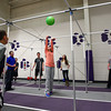12-31-13<br /> NWHS Bridges Outreach NYE bash<br /> Paighton Armes (center) hits the ball over the pole during a game called Square in the Air. It was one of the many games and events available in Northwestern High School's gym during Bridges Outreach New Years Eve bash.<br /> KT photo | Kelly Lafferty