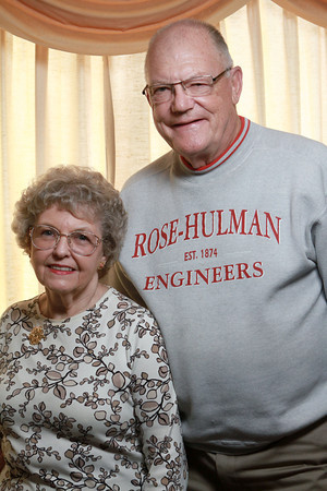 "1-22-14<br /> Shirley Genung and Walter ""Walt"" McIndoo have been married for 57 years.<br /> KT photo 
