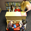 1-16-14   --- Little School at 2000 West Jefferson. Lainey Younce and Gavin Rizer work on a project with help from Heather Bonds while Ashton Goff and Lauran Kolb-Pratt work on the ipads.  -- <br />   KT photo | Tim Bath
