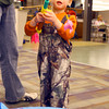 1-3-14   --- Duck Dynasty night at the Kokomo Howard County Public Library. Colton Dale, 2, fishing. -- <br />   KT photo | Tim Bath