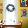 1-2-14<br /> Cafe Du Cirque<br /> Artwork from the Miami County Artists Co-Op  is displayed on the walls of Cafe Du Cirque in Peru.<br /> KT photo | Kelly Lafferty