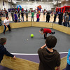 12-31-13<br /> NWHS Bridges Outreach NYE bash<br /> Kids play one of the many games available in Northwestern High School's gym during Bridges Outreach New Years Eve bash.<br /> KT photo | Kelly Lafferty