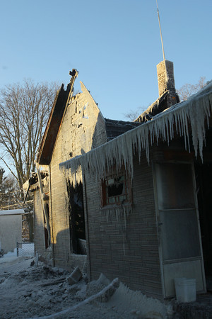 1-7-14   --- An early morning fire destroyed a house on Vaile Street near Union.  -- <br />   KT photo | Tim Bath