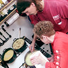 12/25/00<br /> Favors Christmas<br /> Volunteers Blache Curry and Kenny Cockrell work all morning long to prepare a wonderful feast.This is Kenny's 3rd year for volunteering at the Favors Christmas.<br /> Kt photo by Bruce Pyke
