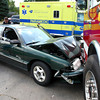 7-17-12<br /> An accident in the 2100 block of West Sycamore in front of Coffee Junkies involving Kokomo Fire Department Rescue 1 on Tuesday afternoon. Noone seriously injured.<br /> KT photo | Tim Bath