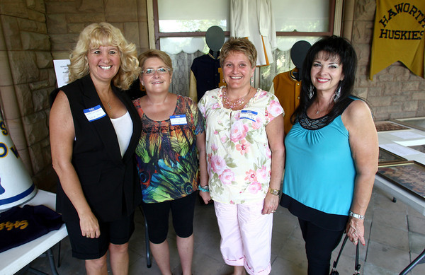 7-20-12<br /> Out and About Haworth High School Reunion at Seiberling Mansion<br /> Cathy Stover, Jill Savage, Debbie Laughner King, Pamela Fuller<br /> KT photo | Kelly Lafferty