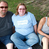 7-28-12<br /> Out and About Foster Park Summer concert series<br /> Todd, Jenny, and Quentin Baker<br /> KT photo | Kelly Lafferty