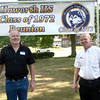 7-20-12<br /> Out and About Haworth High School Reunion at Seiberling Mansion<br /> Gary Fuller and Joe Young<br /> KT photo | Kelly Lafferty