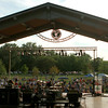 7-28-12<br /> Foster Park pavilion<br /> A crowd gathers in Foster Park to watch Misfit Toys and the Pat Travers Band on Saturday.<br /> KT photo | Kelly Lafferty