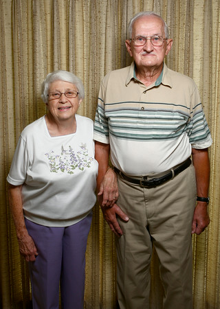 Joan and Eugene Schaaf have been married for 60 years.<br /> Kelly Lafferty | Kokomo Tribune