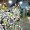 7-3-14   --- Kokomo Recycle at 1701 North Market Street current operations with expansion coming so they can accomadate City of Kokomo curbside program. Jerry Biehle operates a baler that is packing recyclables to be shipped to a different location. --<br />   Tim Bath | Kokomo Tribune