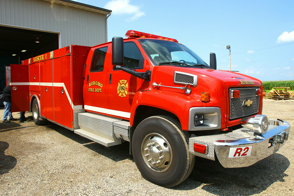 7-30-14<br /> Kokomo Fire Department's Rescue Two taken out of service by the City of Kokomo.<br /> Tim Bath | Kokomo Tribune