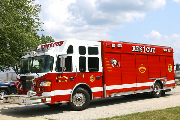 7-30-14<br /> Kokomo Fire Department's Rescue One<br /> Tim Bath | Kokomo Tribune