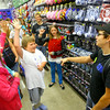 7-25-14 <br /> Grand Opening of Five Below in the Markland Plaza. During the grand opening a trivia contest was held with Carson Hite, 9 getting ready to answer a question.<br /> Tim Bath | Kokomo Tribune