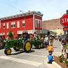 7-5-14<br /> Haynes Apperson Parade<br /> Pregnancy Resource Center makes its way down Main Street with a tractor during the Haynes Apperson parade.<br /> Kelly Lafferty | Kokomo Tribune