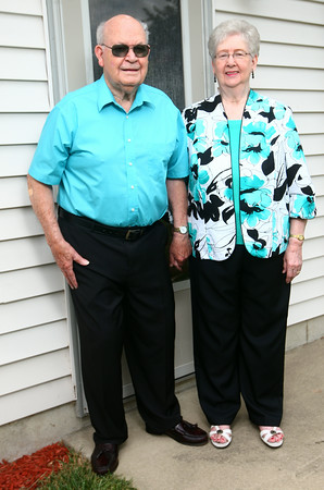 Jim and Carlis McCauley have been married for 65 years.<br /> Kelly Lafferty | Kokomo Tribune