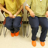 7-9-14 <br /> Inmates wait in the medical facility at the Howard County Criminal Justic Center.<br /> Tim Bath | Kokomo Tribune