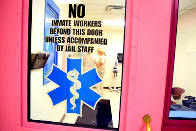 7-9-14  entrance to the medical office at the Howard County Criminal Justic Center. Tim Bath | Kokomo Tribune