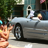 7-5-14<br /> Haynes Apperson Parade<br /> The Haynes Apperson parade cruises down Main Street on Saturday afternoon.<br /> Kelly Lafferty | Kokomo Tribune