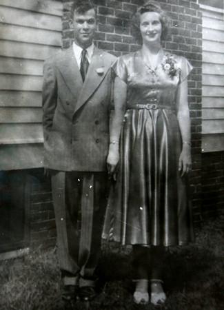Jim and Carlis McCauley were married on July 24, 1949.