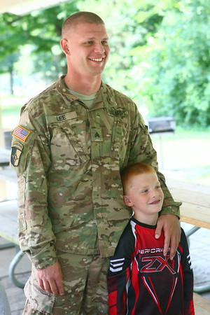 7-17-14<br /> Surprise soldier return<br /> <br /> Kelly Lafferty | Kokomo Tribune
