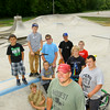 7-29-14<br /> Peru Skate Park at 400 West Canal Street in Peru. Steve Anderson at the skate park with some of the kids that have been frequenting it.<br /> Tim Bath | Kokomo Tribune